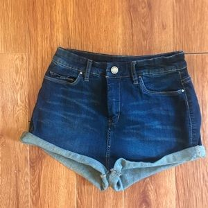 """BlankNYC """"The Solid Gold"""" High Waist Shorts, Vibe"""